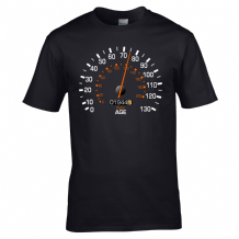 Speedometer 1944 Birthday T-Shirt - Funny Feels Age Year Present Mens Gift